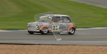 © Octane Photographic Ltd. Donington Park - General Test - 19th April 2012. Rupert Deeth, Motivated Racing, Mini Miglia Championship. Digital ref : 0297lw7d5582