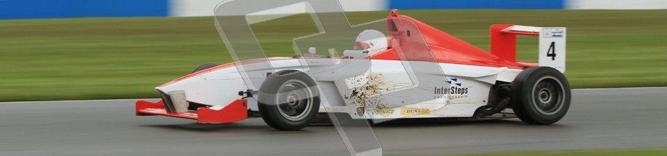 © Octane Photographic Ltd. Donington Park - General Test - 19th April 2012. Matteo Ferrer, Mygale FB02, Fortec, BARC Intersteps championship. Digital ref : 0297lw7d5969