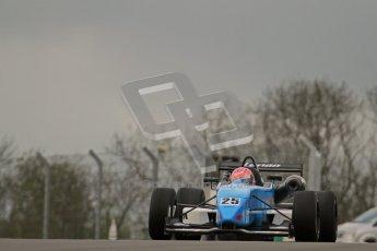 © Octane Photographic Ltd. Donington Park un-silenced general test day, 26th April 2012. Kat Impey, F3 Cup. Digital Ref : 0301lw7d8858