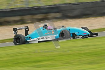 © Octane Photographic Ltd. Donington Park un-silenced general test day, 26th April 2012. Kat Impey, F3 Cup. Digital Ref : 0301cb1d2882