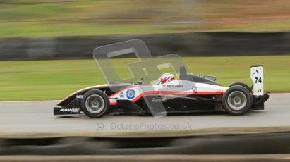 © Octane Photographic Ltd. Donington Park un-silenced general test day, 26th April 2012. James Abbott, Dallara F306, F3 Cup. Digital Ref : 0301cb7d8332