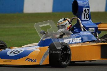 © Octane Photographic Ltd. Donington Park un-silenced general test day, 26th April 2012. Bob Berridge, Ex-John Watson, Surtees TS16, Master Grand Prix, Historic F1. Digital Ref : 0301lw7d9579