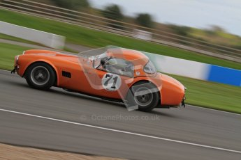 © Octane Photographic Ltd. Donington Park un-silenced general test day, 26th April 2012. Ingram/Chiles/Chiles Jr, AC Cobra. Digital Ref : 0301lw7d9955