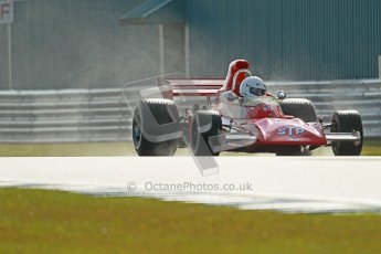 © Octane Photographic Ltd. Donington Park un-silenced general test day, 26th April 2012. March 711, Historic F1. Digital Ref : 0301cb1d2762