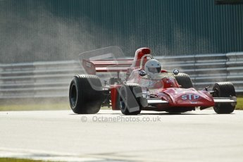 © Octane Photographic Ltd. Donington Park un-silenced general test day, 26th April 2012. March 711, Historic F1. Digital Ref : 0301cb1d2764