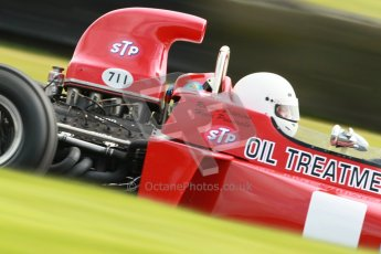 © Octane Photographic Ltd. Donington Park un-silenced general test day, 26th April 2012. March 711, Historic F1. Digital Ref : 0301cb1d3007
