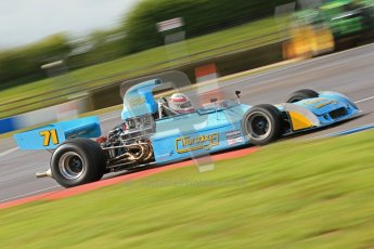 © Octane Photographic Ltd. Donington Park un-silenced general test day, 26th April 2012. Simon Taylor, Ex-Derek Bell Chevron B24 F5000Digital Ref : 0301cb7d7673