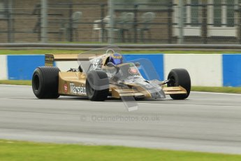 © Octane Photographic Ltd. Donington Park testing, May 17th 2012. Ex-Ricardo Patrese Arrows A1. Digital Ref : 0339cb1d6556