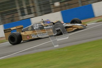 © Octane Photographic Ltd. Donington Park testing, May 17th 2012. Ex-Ricardo Patrese Arrows A1. Digital Ref : 0339cb7d2624