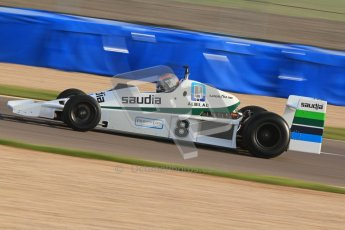 © Octane Photographic Ltd. Donington Park un-silenced general testing. Thursday 29th March 2012. Williams FW06 - Rob Hall, Historic F1. Digital Ref : 0261cb7d4049