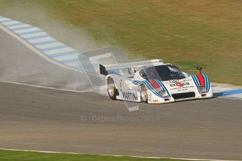 © Octane Photographic Ltd. Donington Park un-silenced general testing. Thursday 29th March 2012. Lancia LC2 - Rupert Clevely. Digital Ref : 0261cb7d4454