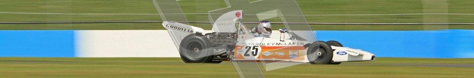 © Octane Photographic Ltd. Donington Park un-silenced general testing. Thursday 29th March 2012. Mclaren M19, Historic F1. Digital Ref : 0261cb7d4981