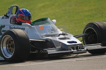 © Octane Photographic Ltd. Donington Park un-silenced general testing. Thursday 29th March 2012. Ex-Keke Rosberg Williams FW08, Historic F1. Digital Ref : 0261cb7d5382