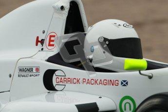 © Octane Photographic Ltd. Donington Park testing, May 3rd 2012. David Wagner - Formula Renault BARC. Digital Ref : 0313cb1d6780