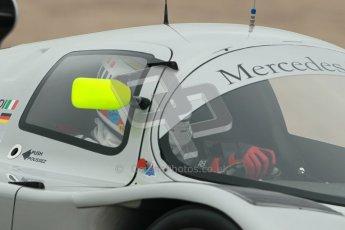 © Octane Photographic Ltd. Donington Park testing, May 3rd 2012. Bob Berridge driving the ex-Michael Schumacher/Mauro Baldi Sauber C11. Digital Ref : 0313cb1d6791