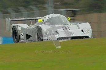 © Octane Photographic Ltd. Donington Park testing, May 3rd 2012. Bob Berridge driving the ex-Michael Schumacher/Mauro Baldi Sauber C11. Digital Ref : 0313cb1d6940