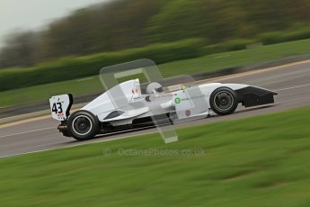© Octane Photographic Ltd. Donington Park testing, May 3rd 2012. David Wagner - Formula Renault BARC. Digital Ref : 0313cb7d9269
