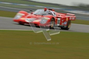 © Octane Photographic Ltd. Donington Park testing, May 3rd 2012. Ex-Ickx/Giunti Ferrari 512M. Digital Ref : 0313cb7d9407