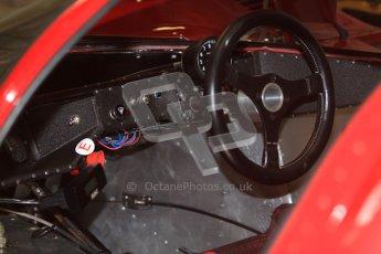 © Octane Photographic Ltd. Donington Park testing, May 3rd 2012. Ex-Ickx/Giunti Ferrari 512M. Digital Ref : 0313cb7d9588