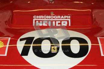 © Octane Photographic Ltd. Donington Park testing, May 3rd 2012. Ex-Ickx/Giunti Ferrari 512M. Digital Ref : 0313cb7d9592