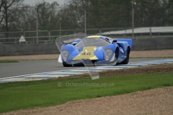 © Octane Photographic Ltd. Donington Park testing, May 3rd 2012. Lola T70. Digital Ref : 0313lw7d5612