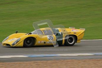 © Octane Photographic Ltd. Donington Park testing, May 3rd 2012. Lola T70. Digital Ref : 0313lw7d6816
