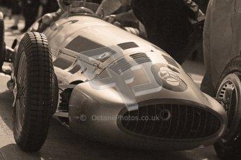 © Octane Photographic Ltd. 2012. Donington Park - General Test Day. Thursday 16th August 2012. 1939 Mercedes W163., Historic F1 Digital Ref : 0458cb1d0349