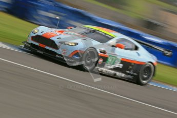© Octane Photographic Ltd. 2012. Donington Park - General Test Day. Thursday 16th August 2012. FIA WEC. Aston Martin Vantage GTE. Digital Ref : 0458cb1d0685