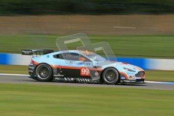 © Octane Photographic Ltd. 2012. Donington Park - General Test Day. Thursday 16th August 2012. FIA WEC. Aston Martin Vantage GTE. Digital Ref : 0458cb1d0984