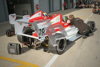 © Octane Photographic Ltd. 2012. Donington Park - General Test Day. Thursday 16th August 2012. Formula Renault BARC. Kieran Vernon and Jacob Nortoft - Hillspeed. Digital Ref : 0458cb1d0158