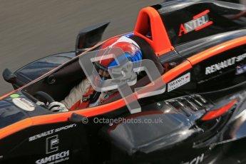 © Octane Photographic Ltd. 2012. Donington Park - General Test Day. Thursday 16th August 2012. Formula Renault BARC. Ivan Taranov - Antel Motorsport. Digital Ref : 0458cb1d0205