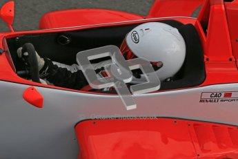 © Octane Photographic Ltd. 2012. Donington Park - General Test Day. Thursday 16th August 2012. Formula Renault BARC. Martin Cao - Fortec Motorsports. Digital Ref : 0458cb1d0266