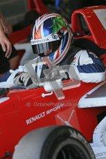© Octane Photographic Ltd. 2012. Donington Park - General Test Day. Thursday 16th August 2012. Formula Renault BARC. Kieran Vernon - Hillspeed. Digital Ref : 0458cb1d0496