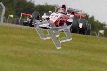 © Octane Photographic Ltd. 2012. Donington Park - General Test Day. Thursday 16th August 2012. Formula Renault BARC. Kieran Vernon - Hillspeed. Digital Ref : 0458ce1d0584