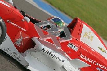 © Octane Photographic Ltd. 2012. Donington Park - General Test Day. Thursday 16th August 2012. Formula Renault BARC. Kieran Vernon - Hillspeed. Digital Ref : 0458cb1d0770