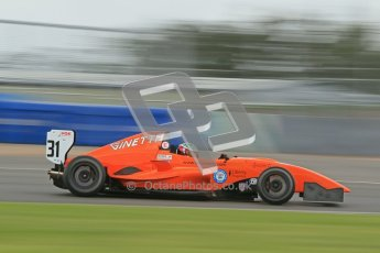 © Octane Photographic Ltd. 2012. Donington Park - General Test Day. Thursday 16th August 2012. Formula Renault BARC. Seb Morris - Fortec Motorsports. Digital Ref : 0458cb1d0904