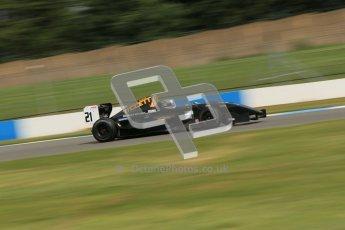 © Octane Photographic Ltd. 2012. Donington Park - General Test Day. Thursday 16th August 2012. Formula Renault BARC. Laura Tillett - Fortec Motorsports. Digital Ref : 0458cb1d1079