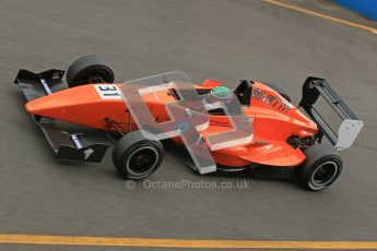 © Octane Photographic Ltd. 2012. Donington Park - General Test Day. Thursday 16th August 2012. Formula Renault BARC. Seb Morris - Fortec Motorsports. Digital Ref : 0458cb1d1363