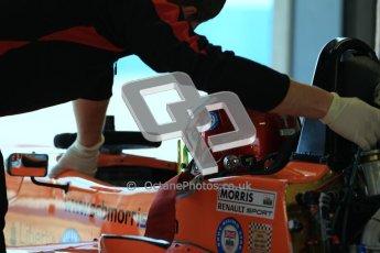 © Octane Photographic Ltd. 2012. Donington Park - General Test Day. Thursday 16th August 2012. Formula Renault BARC. Seb Morris - Fortec Motorsports. Digital Ref : 0458cb7d0038