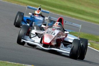 © Octane Photographic Ltd. 2012. Donington Park - General Test Day. Thursday 16th August 2012. Formula Renault BARC. Kieran Vernon - Hillspeed. Digital Ref : 0458ce1d0016