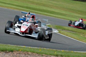 © Octane Photographic Ltd. 2012. Donington Park - General Test Day. Thursday 16th August 2012. Formula Renault BARC. Kieran Vernon - Hillspeed. Digital Ref : 0458ce1d0017