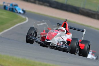 © Octane Photographic Ltd. 2012. Donington Park - General Test Day. Thursday 16th August 2012. Formula Renault BARC. Martin Cao - Fortec Motorsports. Digital Ref : 0458ce1d0391