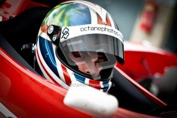 © Octane Photographic Ltd. 2012. Donington Park - General Test Day. Thursday 16th August 2012. Formula Renault BARC. Kieran Vernon - Hillspeed. Digital Ref : 0458ce1d0675
