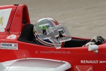© Octane Photographic Ltd. 2012. Donington Park - General Test Day. Thursday 16th August 2012. Formula Renault BARC. Kieran Vernon - Hillspeed. Digital Ref : 0458lw7d0100