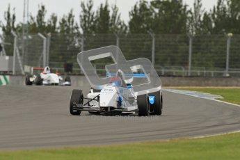 © Octane Photographic Ltd. 2012. Donington Park - General Test Day. Thursday 16th August 2012. Formula Renault BARC. Diego Menchaca - Fortec Motorsport. Digital Ref : 0458lw7d0218
