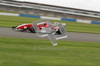 © Octane Photographic Ltd. 2012. Donington Park - General Test Day. Thursday 16th August 2012. Formula Renault BARC. Kieran Vernon - Hillspeed. Digital Ref : 0458lw7d0325