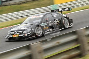 © Octane Photographic Ltd. 2012. DTM – Brands Hatch  - Friday Afternoon Practice. Gary Paffett - Mercedes AMG C-Coupe - Thomas Sabo Mercedes AMG. Digital Ref :
