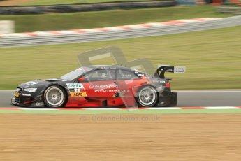 © Octane Photographic Ltd. 2012. DTM – Brands Hatch  - Friday Practice 1. Edoardo Mortara - Playboy Audi A5 DTM - Audi Sport Team Rosberg. Digital Ref : 0340cb7d2926