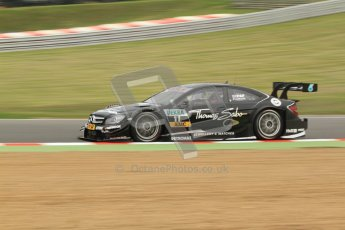 © Octane Photographic Ltd. 2012. DTM – Brands Hatch - Friday Practice 1. Gary Paffett - Mercedes AMG C-Coupe - Thomas Sabo Mercedes AMG. Digital Ref : 0340cb7d2929
