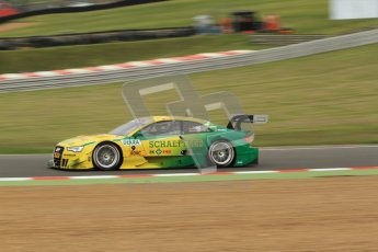 © Octane Photographic Ltd. 2012. DTM – Brands Hatch  - Friday Practice 1. Mike Rockenfeller - Audi A5 DTM - Audi Sport Team Phoenix. Digital Ref : 0340cb7d2970